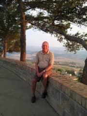 In Volterra Tuscany.