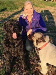 My granddog, Windham and Meadow