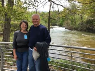 Janet & Larry at Niagara Falls