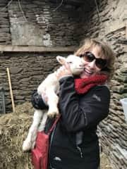 Me & my wooly Irish friend
