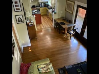 Open floor plan with kitchen/dining/living room all connected