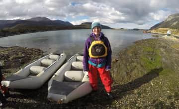 Kayaking in Tierra del Fuego, Argentina (2016)