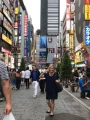 June trip to Tokyo —-students took me around