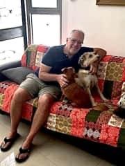 Taffy and Bella in San Jose, Costa Rica, 2021