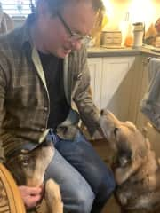 Sprat and Bunter and Wieslaw - House sit 3/2020