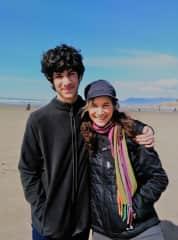 Julio (age 14) & Karen (aka Mom)