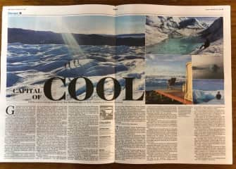 My fave story published in the NZ Herald - an epic trip to Greenland!