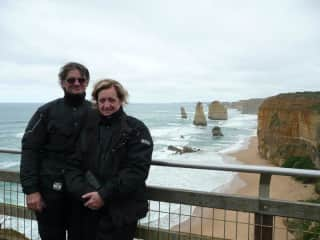 My husband and I rode to Victoria to do the Great Ocean Road in 2010 with my old school friends.  Was an amazing experience.  We also rode to Cairns two years ago with the same group of friends.