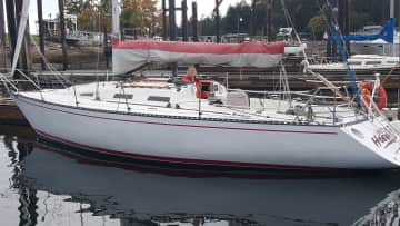 This was my sailboat.  I love to sail and lived on it for 4 summers after selling my house in 2015.