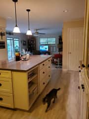 Kitchen & Den