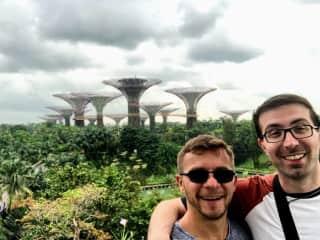 Jack and Adam in Singapore