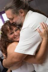 Me and hubby Paul on our wedding day 2014