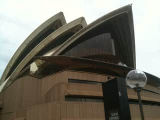 travelling down under