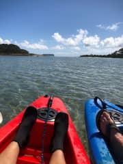 enjoy kayakking