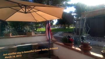 Patio, Green Valley, Arizona