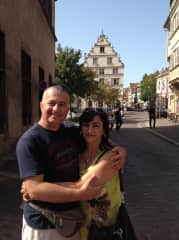 Ray and Catherine in Alsace, France