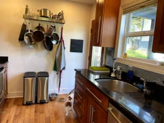 Kitchen, not big, but with everything you might need to make a gourmet meal.