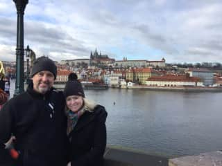 Wintertime in Prague