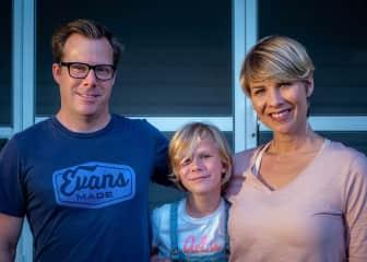 Robert, Finley, and Erika
