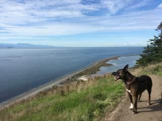 A glorious hike.