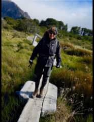 Kate Patagonia hiking