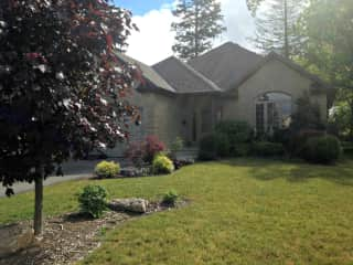 Our own pretty home in the suburbs of Aylmer, Ontario, Canada
