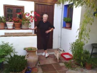 Me in gardening attire