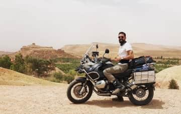 Traveling around Sahara desert in Africa