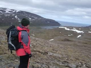 Hiking in Hornstrandir national reserve