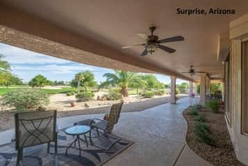 Porch in Arizona home