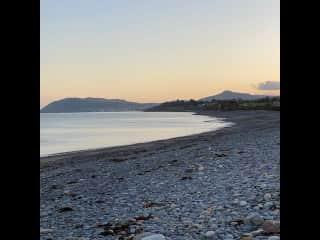 Killiney Beach - 5 mins from our house