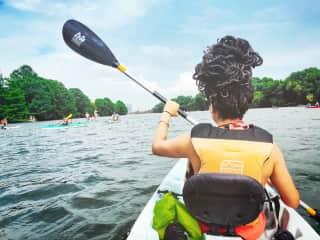 Kayaking in Austin, TX