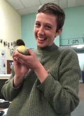 Look, a baby chick!