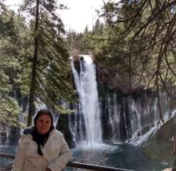 Burney Falls, California in Jan. 2021