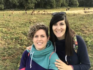 A day out at Richmond Park, London