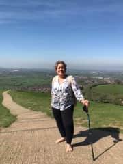 Hiking The Tor in Glastonbury, England