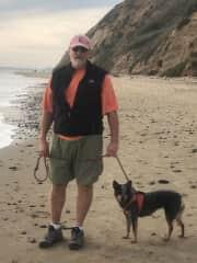 Dan and Chica - Santa Barbara housesit