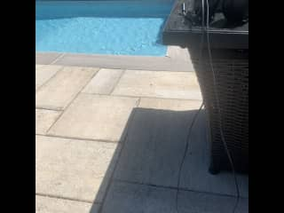 Our pool that I maintain