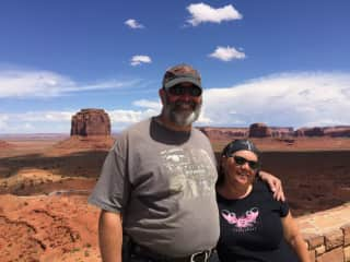 Gregg and Debra - Monument Valley
