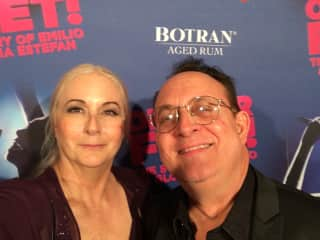 """Opening night on Broadway for """"On Your Feet!"""" with a legacy MSM member and legendary musician, Teddy Mulet"""