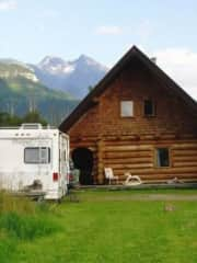 Our beautiful home in B.C. Canada. We often rent our house out as a holiday let -so really understand what it's like to have other's staying in your home. We are very house proud and will look after your house as we would expect others to look after ours.