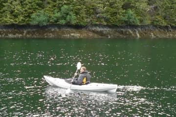 Kayaking in Haida Gwaii