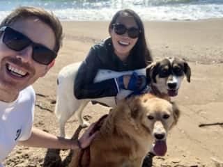 Matt, Hyemin, Mickey & Marie in Zacharo, Greece