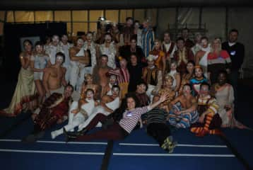 I'm sports physiotherapist(here whit cirque du Soleil)