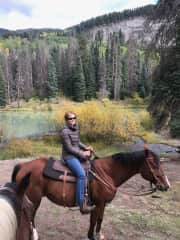 Jackson and I near the Continental Divide in Colorado