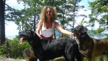 Tucker and Misty in Vancouver