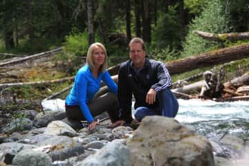 Hiking in Mount Rainier Nat'l Park