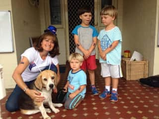 Australia Day with Benson and friends