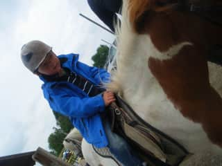 Kilian on the Pony