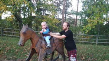 Pavel with Vilem